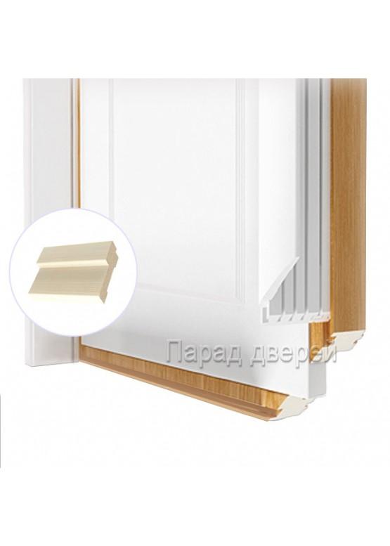 Порог дверной облицованный ПВХ-пленкой Беленый дуб — 0,5 (шт.)