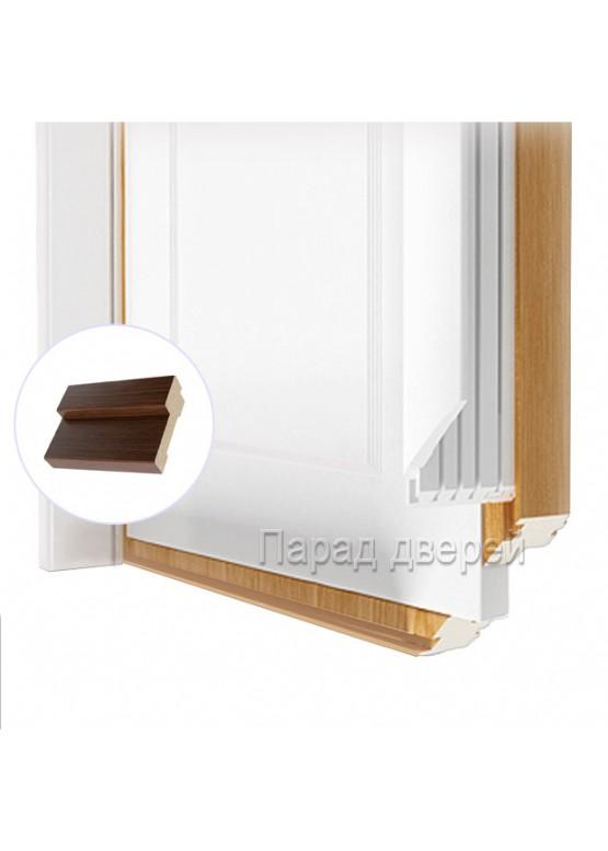 Порог дверной облицованный ПВХ-пленкой Венге — 0,5 (шт.)