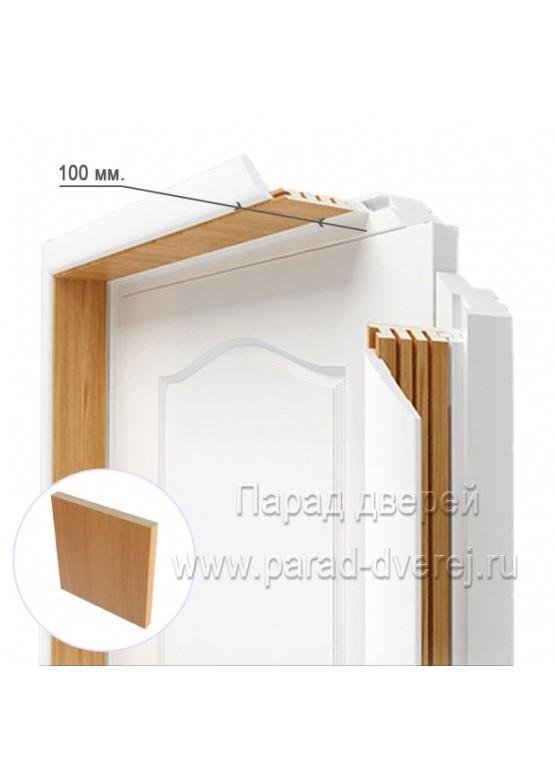 Доборный элемент облицованный ПВХ-пленкой Миланский орех — 0,5 (шт.)