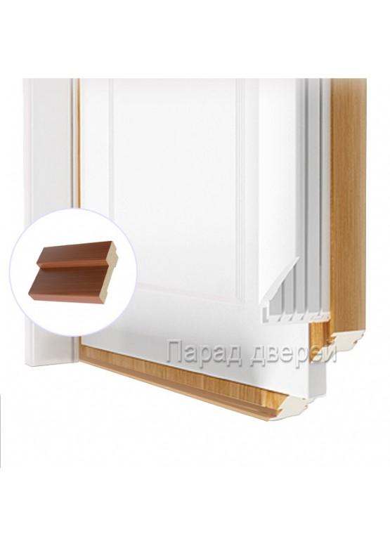 Порог дверной облицованный ПВХ-пленкой Итальянский орех — 0,5 (шт.)