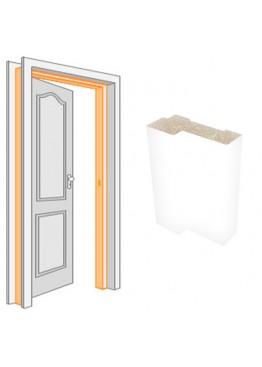 Короб комплект (за 2,5 шт) ПВХ Белый