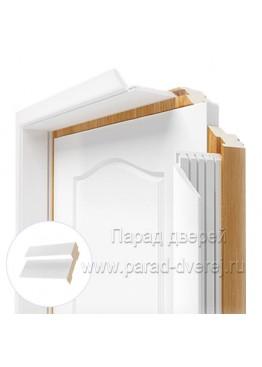 Короб дверной ПВХ Белый