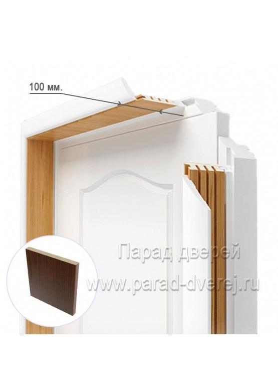 Доборный элемент облицованный ПВХ-пленкой Венге