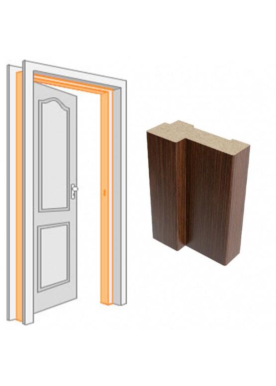 Короб дверной комплект (за 2,5 шт)облицованный ПВХ-пленкой Венге
