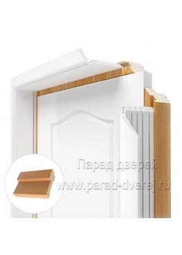 Короб дверной ПВХ Миланский орех