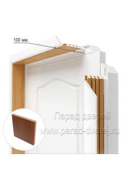 Доборный элемент (100 мм) ПВХ Итальянский орех