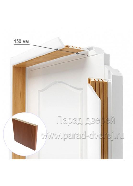 Доборный элемент облицованный ПВХ-пленкой Итальянский орех — 0,5 (шт.)