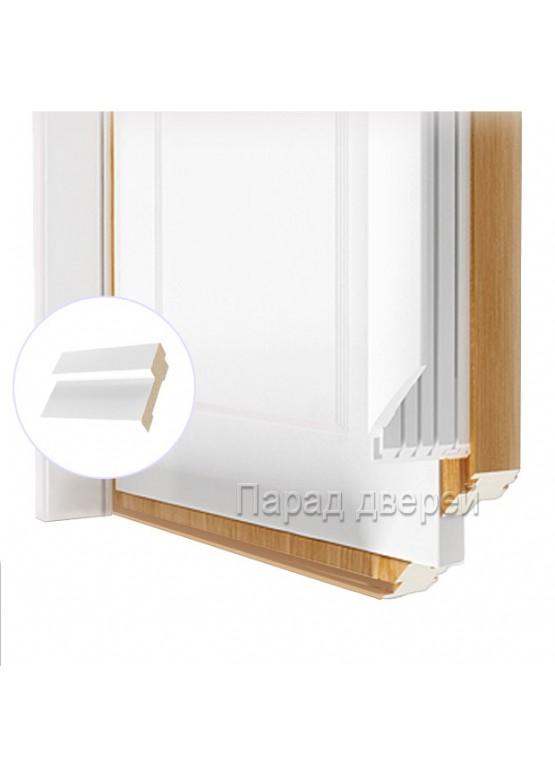 Порог дверной облицованный ПВХ-пленкой Белый — 0,5 (шт.)