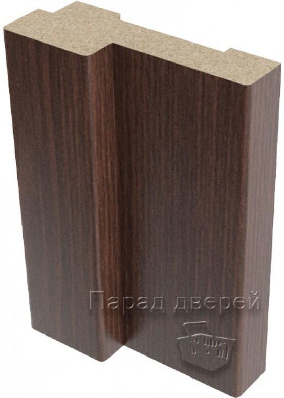 Короб дверной облицованный финиш-пленка Венге — 1 (шт.)