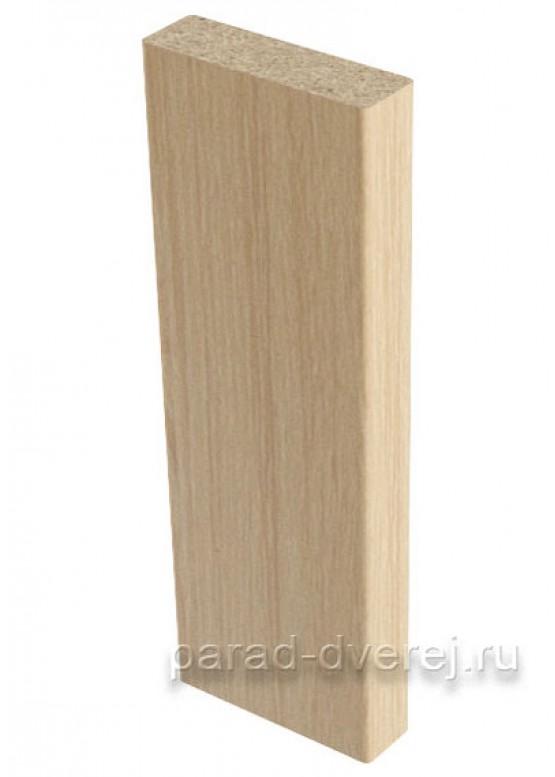 Притворная планка  облицованный финиш-пленка Беленый дуб — 1 (шт.)