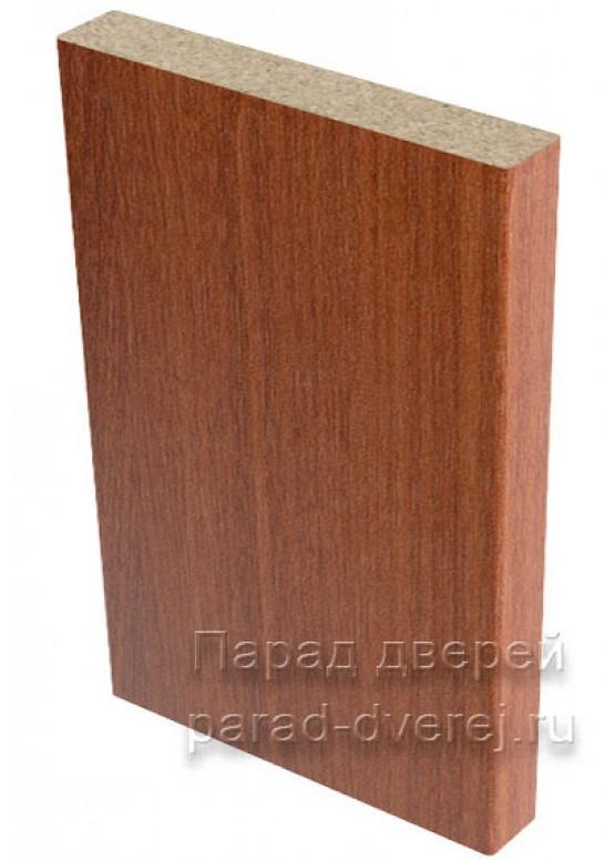 Наличник прямой  облицованный финиш-пленка Итальянский орех — 1 (шт.)