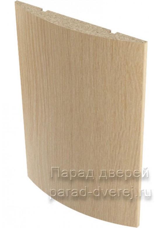 Наличник полукруглый  облицованный финиш-пленка Беленый дуб — 1 (шт.)