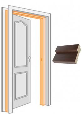 Короб комплект (за 2,5 шт) МДФ Венге