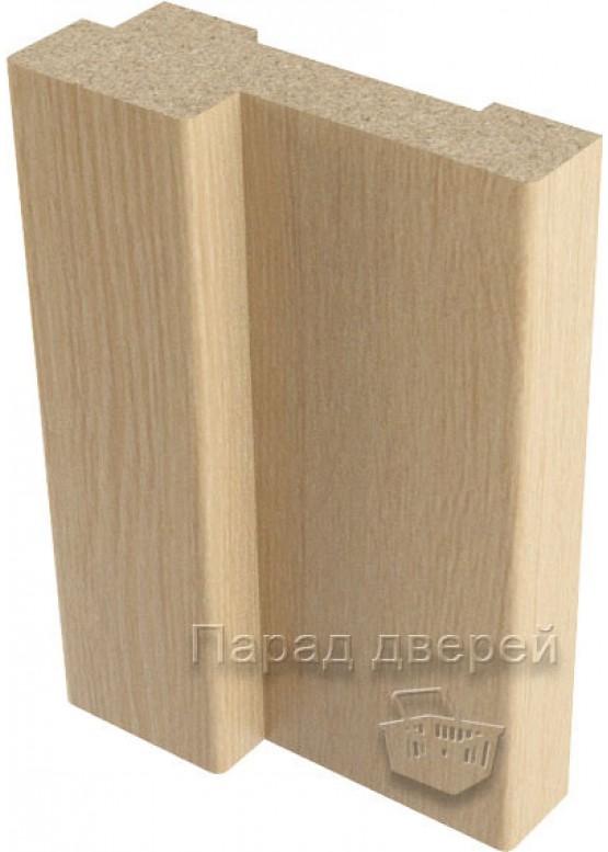 Короб дверной облицованный финиш-пленка Беленый дуб — 1 (шт.)