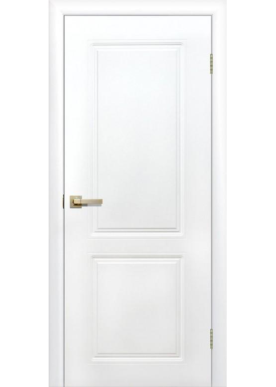Межкомнатная дверь с ПВХ-пленкой Квартет ПГ Белый
