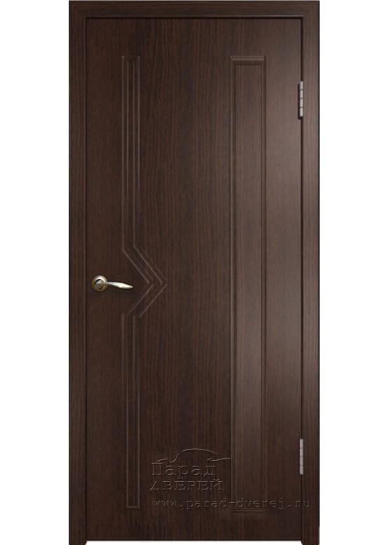 Межкомнатная дверь с ПВХ-пленкой Сигма ПГ Венге