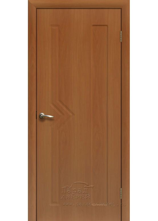Межкомнатная дверь с ПВХ-пленкой Сигма ПГ Миланский орех