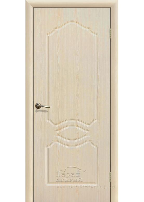 Межкомнатная дверь с ПВХ-пленкой Венеция ПГ Беленый дуб
