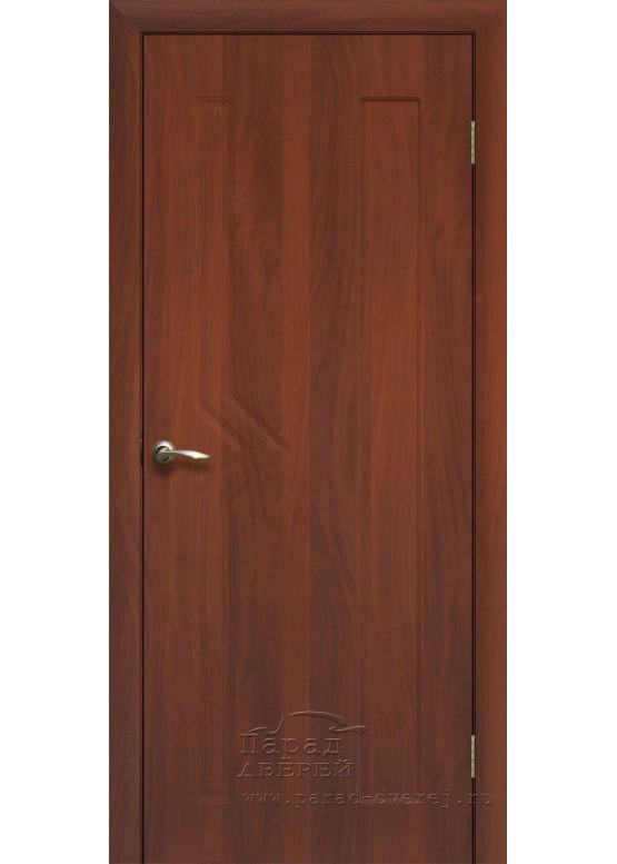 Межкомнатная дверь с ПВХ-пленкой Сигма ПГ Итальянский орех