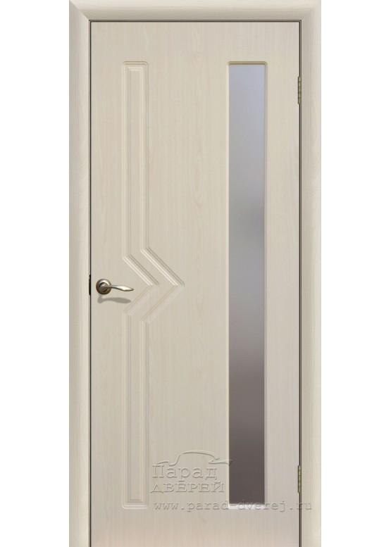 Межкомнатная дверь с ПВХ-пленкой Сигма ПО Беленый дуб