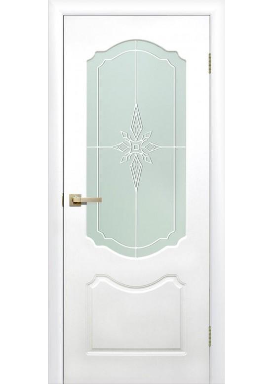 Межкомнатная дверь с ПВХ-пленкой Симфония ПО Белый