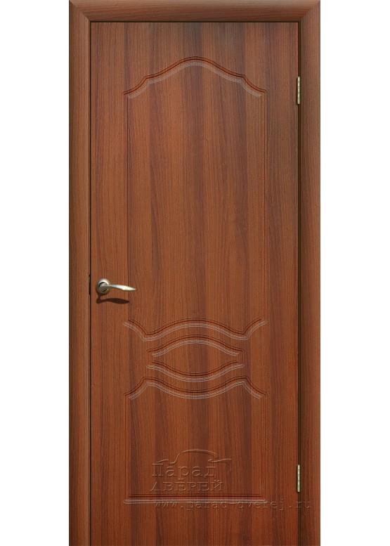 Межкомнатная дверь с ПВХ-пленкой Венеция ПГ Итальянский орех
