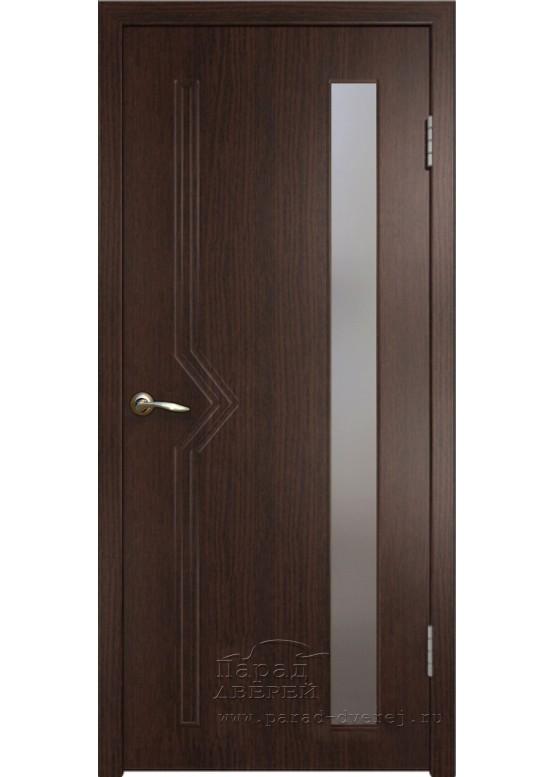 Межкомнатная дверь с ПВХ-пленкой Сигма ПО Венге