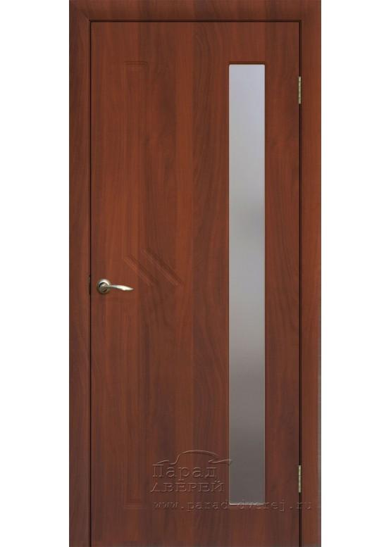 Межкомнатная дверь с ПВХ-пленкой Сигма ПО Итальянский орех