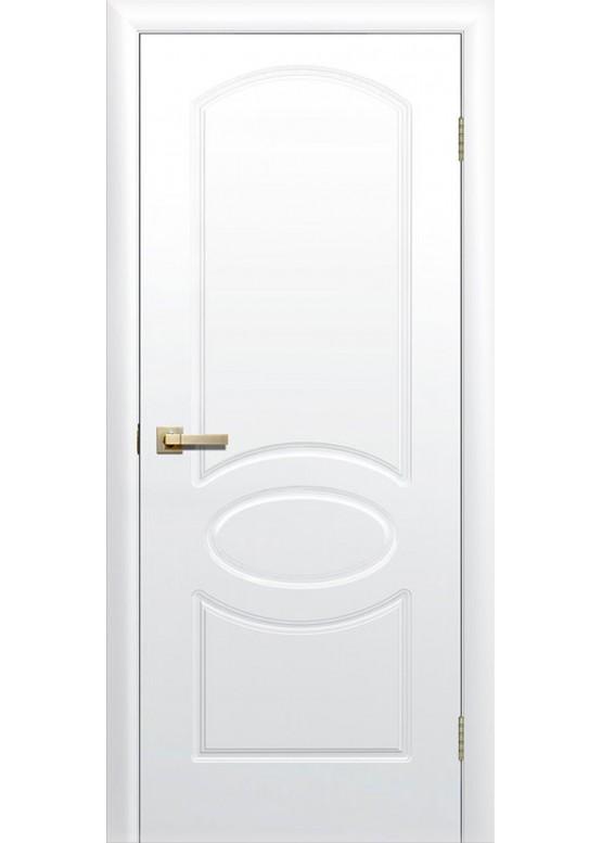 Межкомнатная дверь с ПВХ-пленкой Соната ПГ Белый