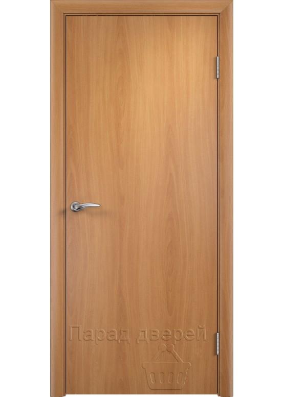 Дверное полотно гладкое ПГ Миланский орех
