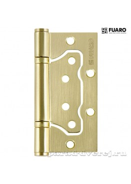 Петля 100x2,5 (500-2BB/BL универсальная без врезки) SB Матовое золото блистер