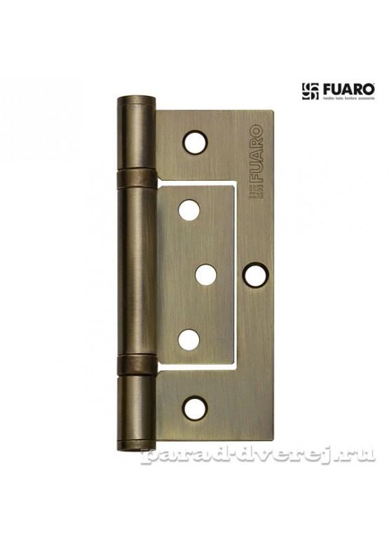 Петля универсальная без врезки 300-2BB 100x2,5 AB (бронза)