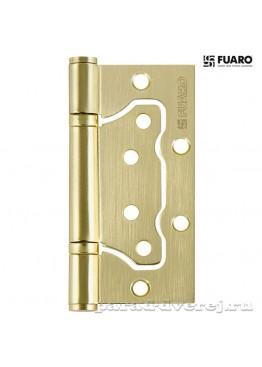Петля 100x2,5 (500-2BB универсальная без врезки) SB Матовое золото