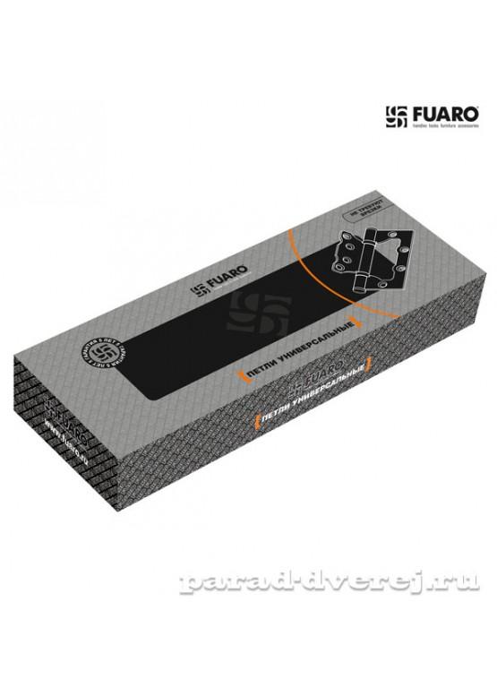 Петля универсальная без врезки 500-2BB 100x2,5 WAB (мат. бронза)