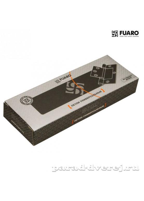 Петля универсальная без врезки 300-2BB 100x2,5 CP (хром)