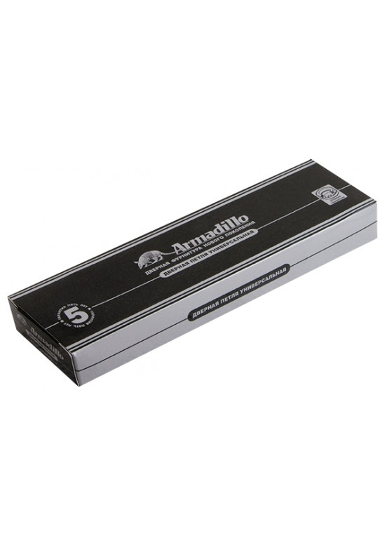 Петля универсальная 500-C5 125х75х3 SG Матовое золото Box