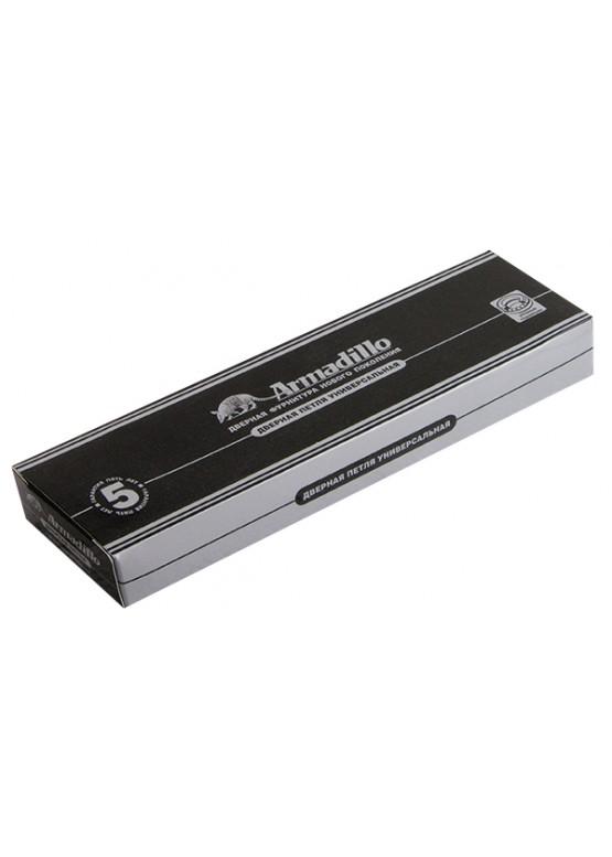 Петля универсальная 500-A4 100x75x3 AS Античное серебро Box