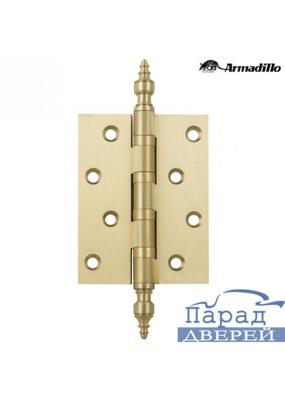 Петля универсальная 500-B4 100x75x3 SG Матовое золото Box