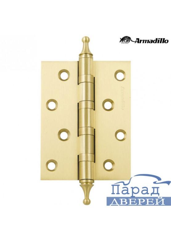 Петля универсальная 500-A4 100x75x3 SG Матовое золото Box