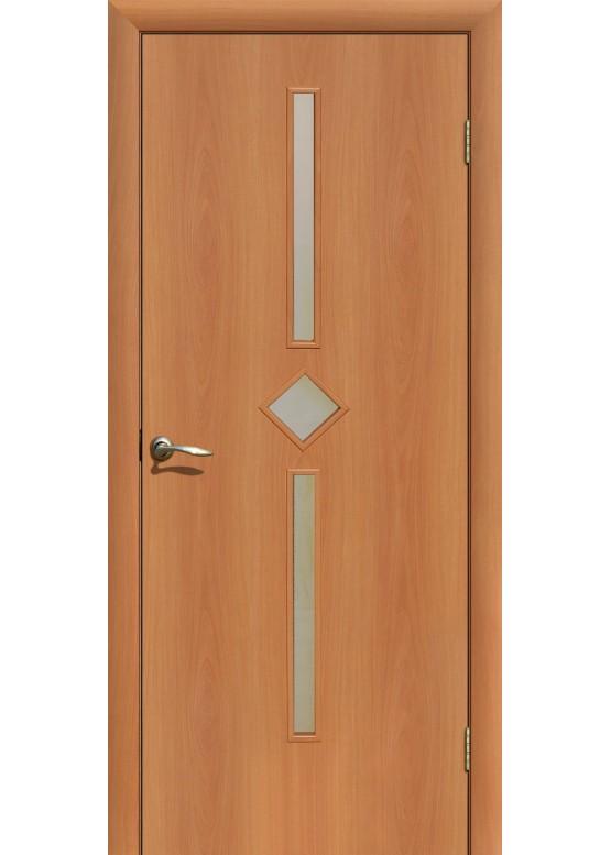Межкомнатная ламинированная дверь С-24 ДО Миланский орех