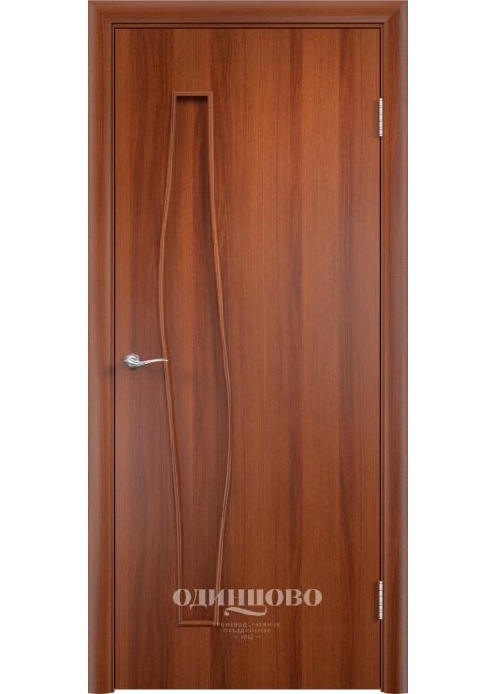 Дверное полотно С-10 ДО Итальянский орех