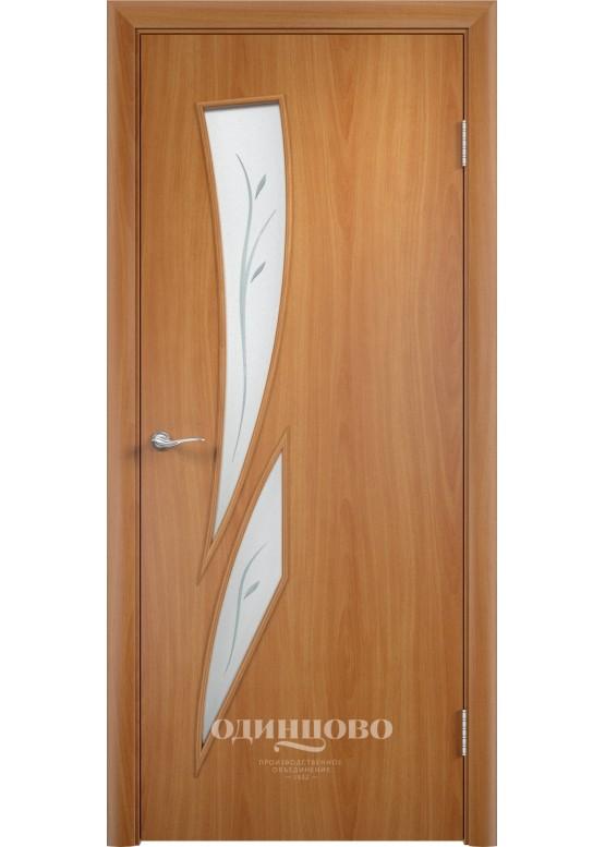 Межкомнатная ламинированная дверь С-2 Ф Миланский орех
