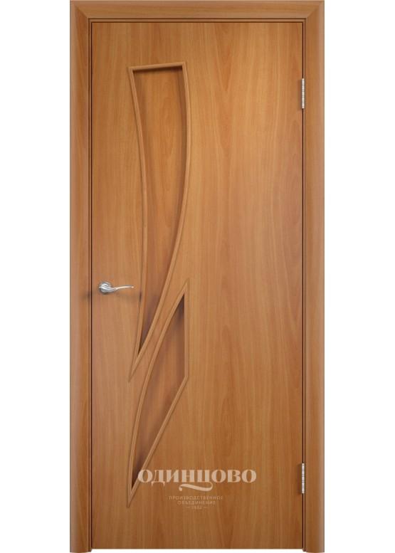 Межкомнатная ламинированная дверь С-2 ДГ Миланский орех