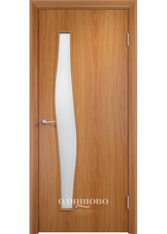 Дверное полотно С-10 ДО Миланский орех