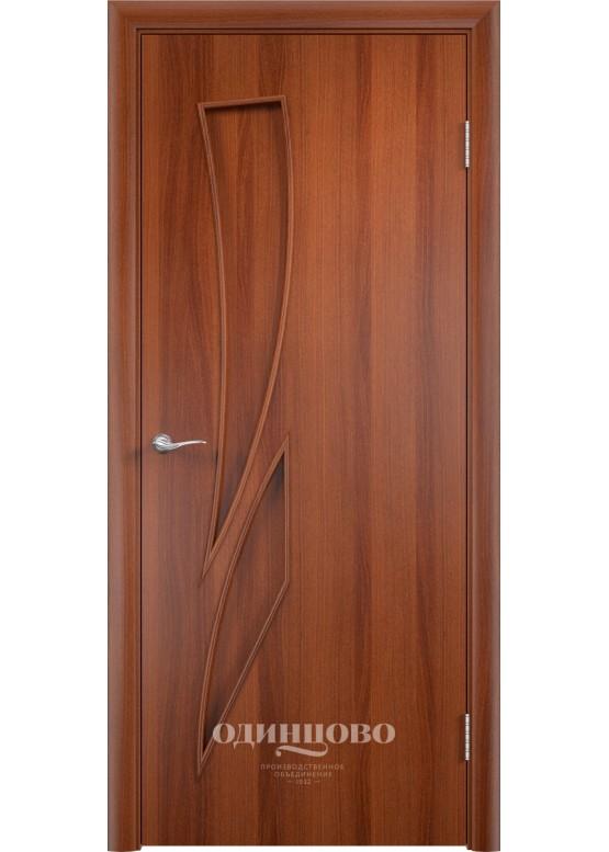 Межкомнатная ламинированная дверь С-2 ДГ Итальянский орех