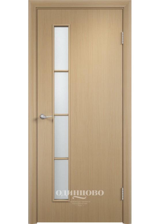 Дверное полотно С-14 ДО Беленый дуб