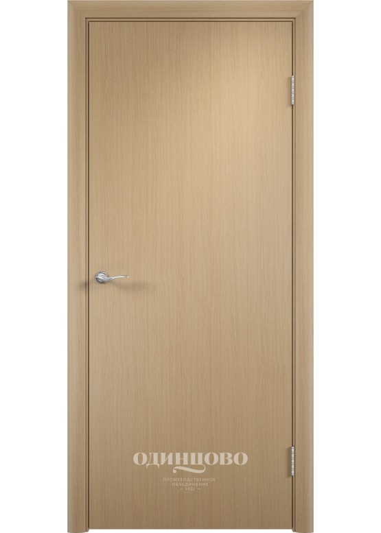 Дверное полотно гладкое ДПГ Беленый дуб