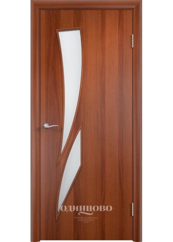 Межкомнатная ламинированная дверь С-2 ДО Итальянский орех