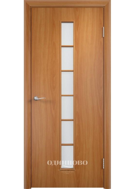 Дверное полотно С-12 ДО Миланский орех