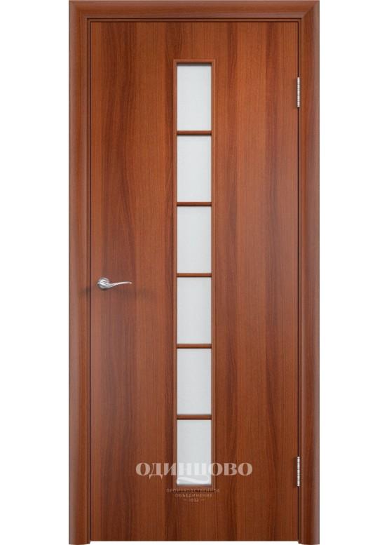 Дверное полотно С-12 ДО Итальянский орех